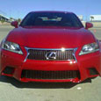 2013 Lexus GS at Vegas