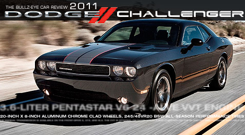 Car review photos and pics of the 2011 Dodge Challenger Rallye