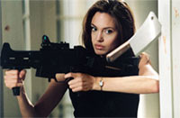 "Angelina Jolie in ""Mr. and Mrs. Smith"""
