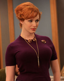 "Christina Hendricks in ""Mad Men"""