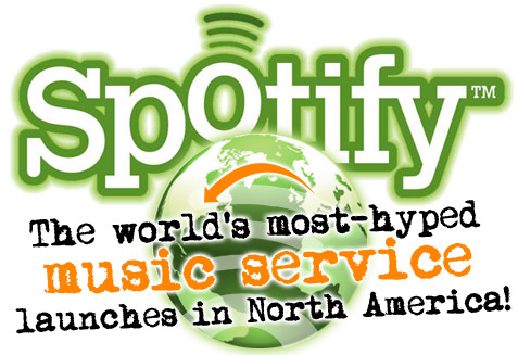 Spotify launches in North America