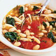 Chicken, Bean and Spinach Stew