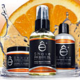 eShave Orange Sandalwood Collection