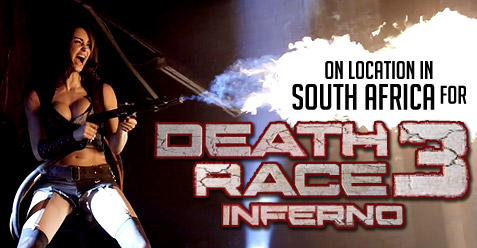 On Location in South Africa for Death Race 3 Inferno