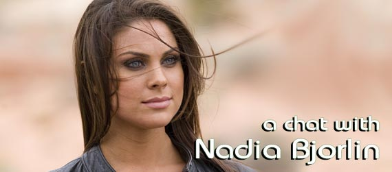 Nadia Bjorlin interview, Redline interview