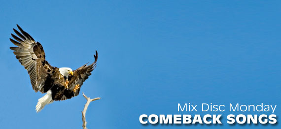 Comeback songs, comeback mix