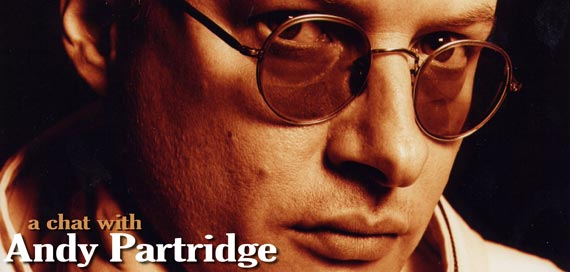 A chat with Andy Partridge