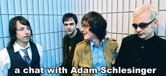 Adam Schlesinger Interview, Fountains of Wayne Interview, Traffic and Weather interview