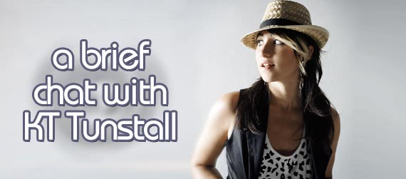 KT Tunstall interview, Eye to the Telescope interview