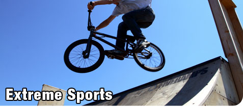 Extreme Sports BMX Recreation Riding