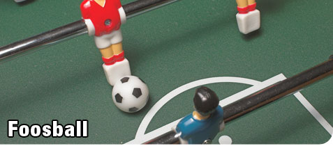 Recreation Foosball Table with Soccer Ball
