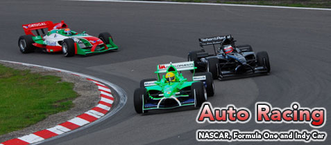 Auto Racing, NASCAR, Formula One, Indy Car