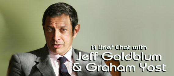 Jeff Goldblum and Graham Yost Interview, Raines Interview