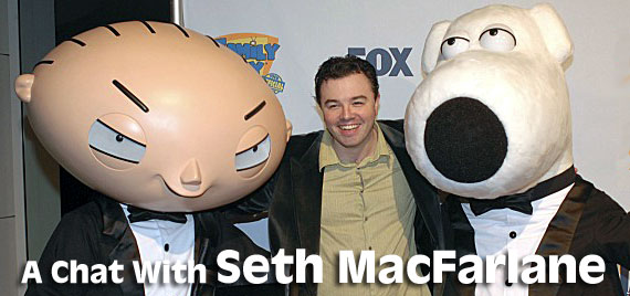 Seth MacFarlane interview