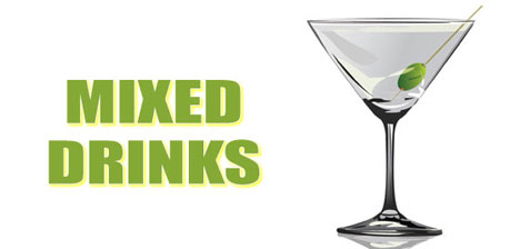 Mixed Drinks, alcohol recipes
